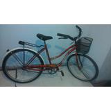 Bicicleta Playera Belleza Dama Rodado 26 Reforzada Ultima