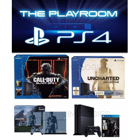 Consola Playstation 4 Ps4 500 Gb + Joystick+ Juego 12 Cuotas