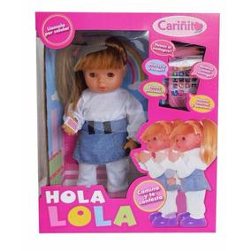Muñeca Hola Lola Interactiva Original - Jugueteria Aplausos
