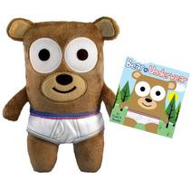 Urso De Pelúcia - Bear In Underwear - 22 Cm