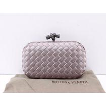 Bolsa Bottega Veneta Clutch Cinza - Pronta Entrega
