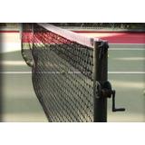 Rede De Tênis Fio 2,5mm 1 Faixa Duplo Saque C/ Cabo De Aço