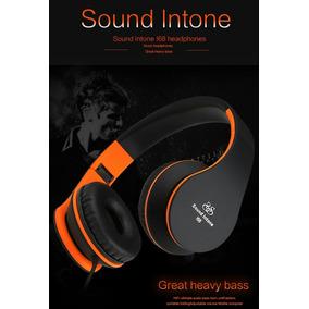 Audífono Con Micrófono Headphones, Sound Intone I68