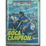 Boca Campeón Del Torneo Apertura 1992 Rev. El Gráfico