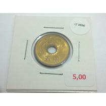 Moeda Japão 5 Yen - Lt0996