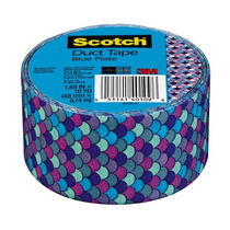 Cinta Adhesiva Duct Tape Blue Plate 1.88in X 10yd Scotch 3m