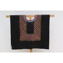 Blusa Oaxaquena, Con Formas Geométricas Hecha Por Zapotecas