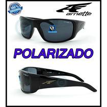 Lentes Arnette La Pistola Polarizado 4179-41-81 Black Nuevos
