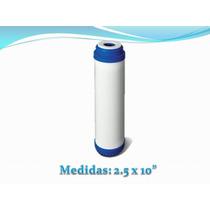 Cartucho Purificador Agua, Elimina Bacterias Y Metales Pesad