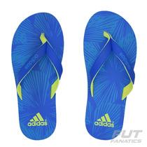 Chinelo Adidas Eezay Azul - Futfanatics