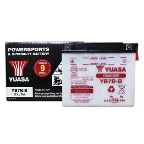 Bateria Convencional Honda Cbx 150 Aero Yuasa Yb7b-b