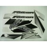 Faixa Adesiva Nx 400 Falcon Ano 2005 Preta (jogo)