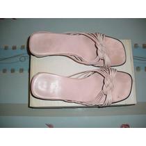 Sandalias En Color Rosa