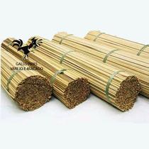 Vareta De Bambu Taquara P/ Pipa 70 Cm C/ 100 Und