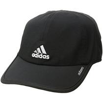 Adidas Gorra Adizero Para Hombre, Negro / Aluminio, Talla Ún