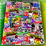 Calco Para Moto Collage - Stickerboom
