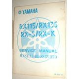 Catalogo De Despiece De Yamaha Rx115/rx135/rx-s/rx-k