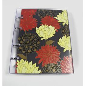 Caderno Fichário 10 Mat-pvc-belle Preto