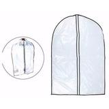 Kit 21 Capas Protetoras De Plastico Para Roupas 60 X 90cm