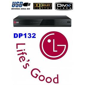 Dvd Lg Dp132 C/ Usb Reproduz De Pen-drive E Hd Externo Qq Tv