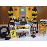 Aluguel Decoração Festa Construção - Caminhões E Tratores Sp