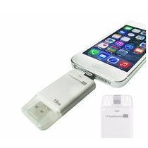 Memoria Usb Iflash 8 Pins De 16 Gb Iphone 5, 6, 7, Ipad