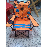 Silla Playera Plegable Para Niños (as) Marca Gassu