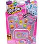 Shopkins Blister 12 Figuras + Estanteria Int 56080 Original