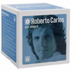 Box Roberto Carlos - Para Sempre Anos 80 - 11 Cds - Original