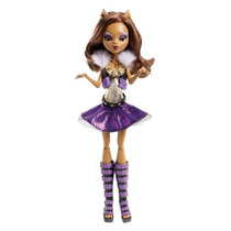 Monster High Es Alive Muñeca Clawdeen Lobo