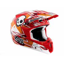 Capacete Answer Skullcandy Trilha Motocross Offroad