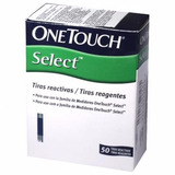 Tiras One Touch Select Caja Por 50 De Jhonson Y Jhonson