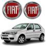 Jogo Emblema Original Fiat Palio 2004/. Grade Tampa Traseira