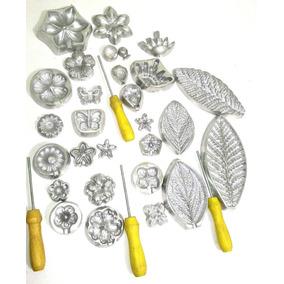 Kit Frisador Para Flores De Eva Em Aluminio Frete Grátis