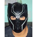 Marvel Mascara Tipo Luchador Black Panther Adulto Pantera Ne