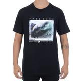 Camiseta Masculina Free Surf Especial Bruno Lemos Preta