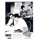 Antigua Publicidad Jabon En Polvo Rinso Extra