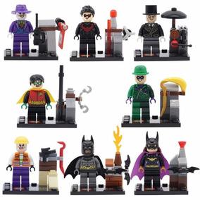 Kit Batman, Robin, Coringa, Charada, Pinguim, Pronta Entrega