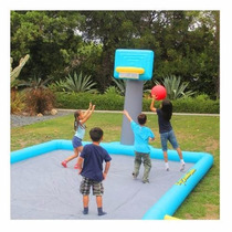 Super Cancha Inflable Basquetbol Basket 6 Mt Wow Remate!!