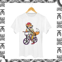 Camiseta Bike - Dropdead - Raposa - Estilo - Legal