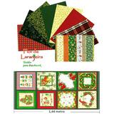 Kit Tecidos Natal Natalino Patchwork Algodao 30cmx70cm