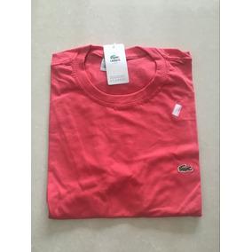 Kit Com 2unidades Camiseta Lacoste Liso Oferta Frete Gratis