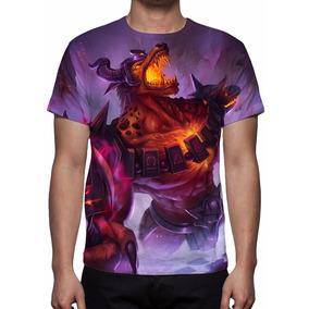 Camisa, Camiseta League Of Legends Nasus Infernal