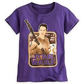 Remera Disney Store Star Wars Talle 14 Años De Nena Brillito