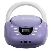 Rádio Am/fm Estéreo Com Cd, Mp3 Player E Entrada Usb - Lb