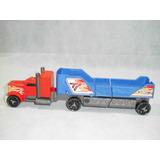 Brinquedo Antigo, Caminhão Carreta Batida Hot Wheels.