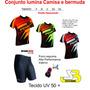 Conjunto Penks Lumina Bermuda+camisa