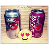 Smirnoff + Coca Cola Cherry + Emoji Whatsapp