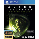 Alien: Isolation Nostromo Fisico Ps4 Legoz Zqz Ref 1295