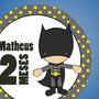 Adesivos Para Mêsversário Bebe - 1 A 12 Meses - Heróis